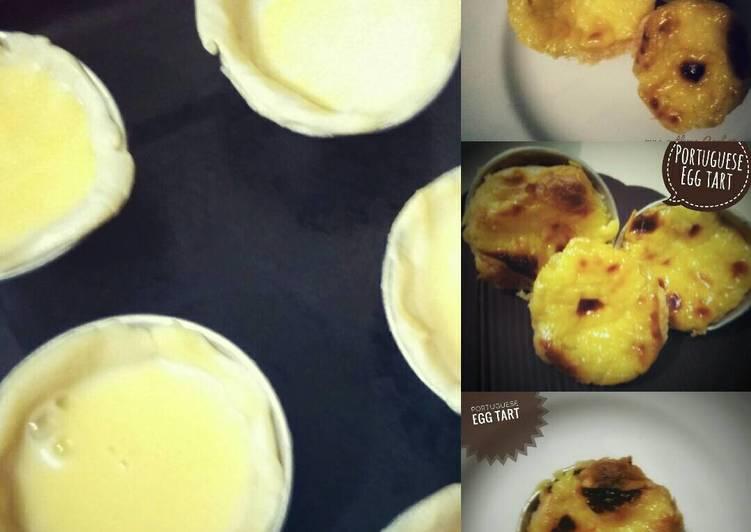 Resep Portuguese Egg Tart