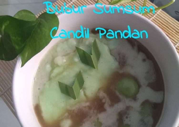 Resep Bubur sumsum candil pandan