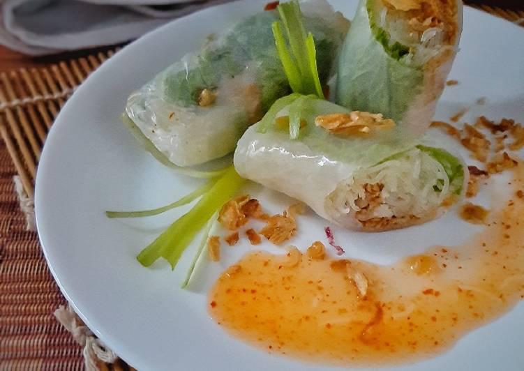 Resep Lumpia Vietnam Kriuk Bawang Goreng