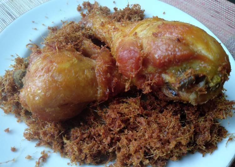 Resep Ayam goreng padang bumbu lengkuas