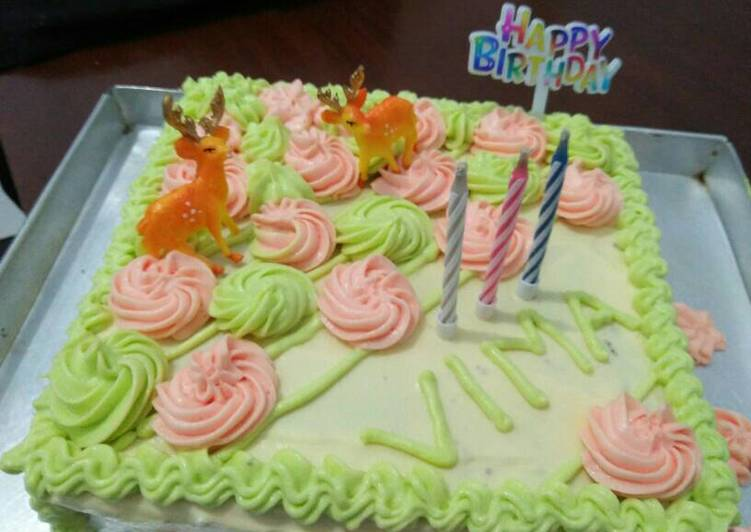 Resep Brownis ulang tahun