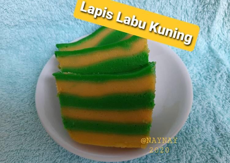 Resep Lapis Labu Kuning Pandan
