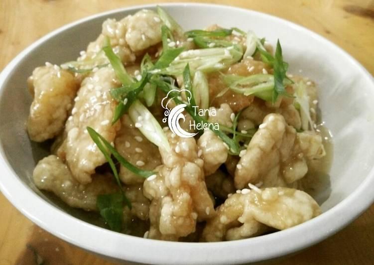 Resep Dori saus lemon gluten free