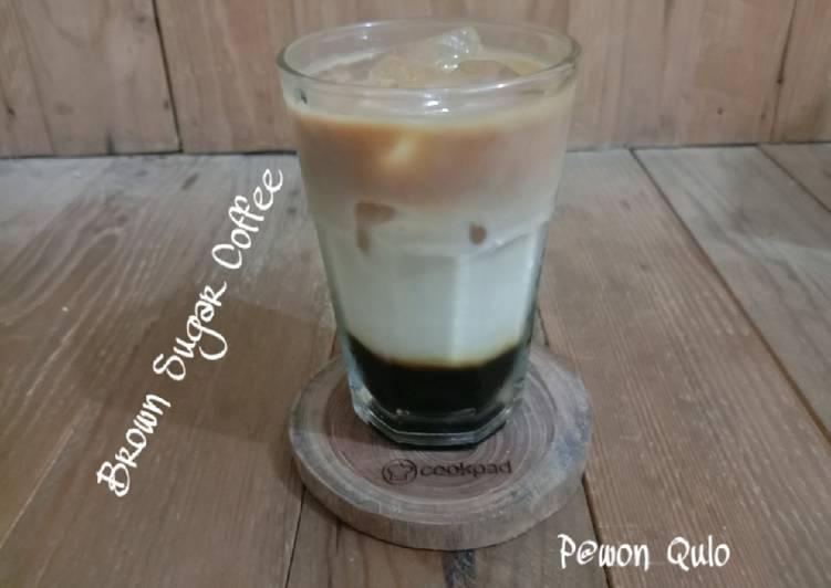 Resep Brown Sugar Coffee Kekinian