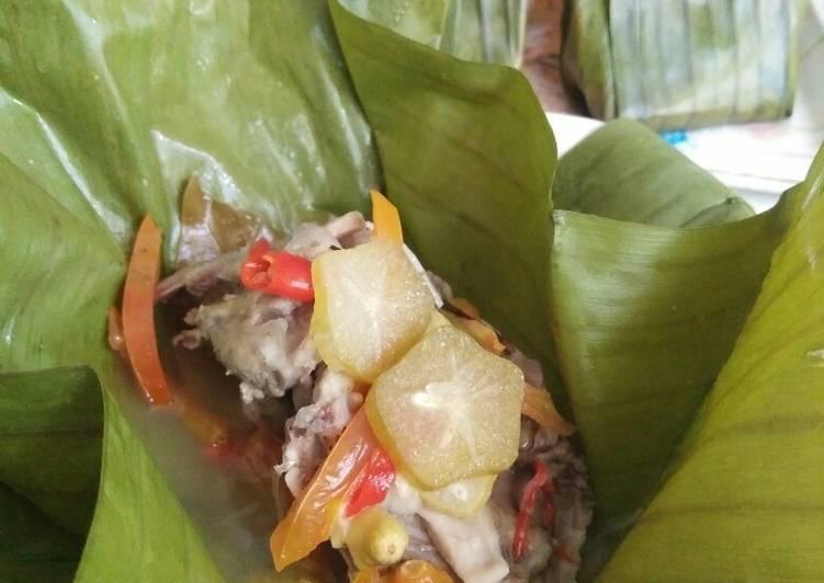 Resep Garang Asem Ayam Pedas Kukus