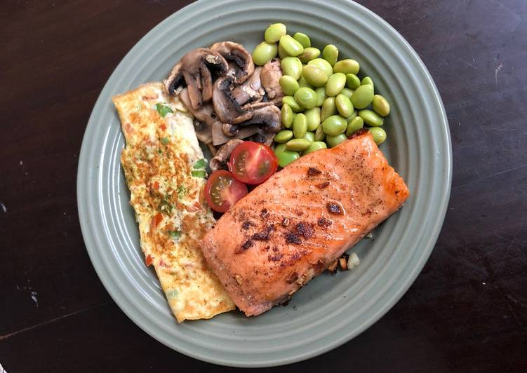 Resep Grilled Salmon Simple