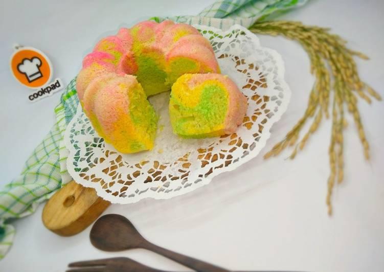 Resep Cake Nutrijel Pelangi