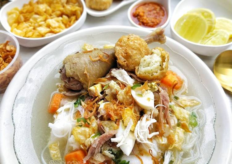 Resep Soto Banjar Ayam Kampung