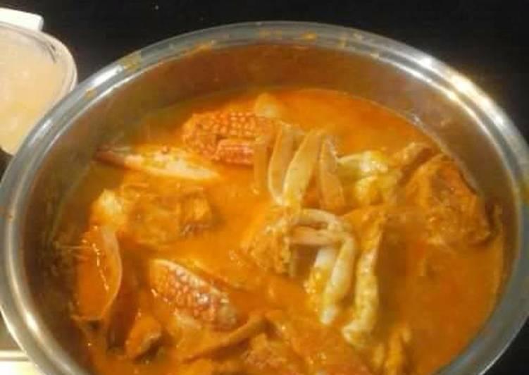 Resep Rajungan saos padang simpel no ruwet