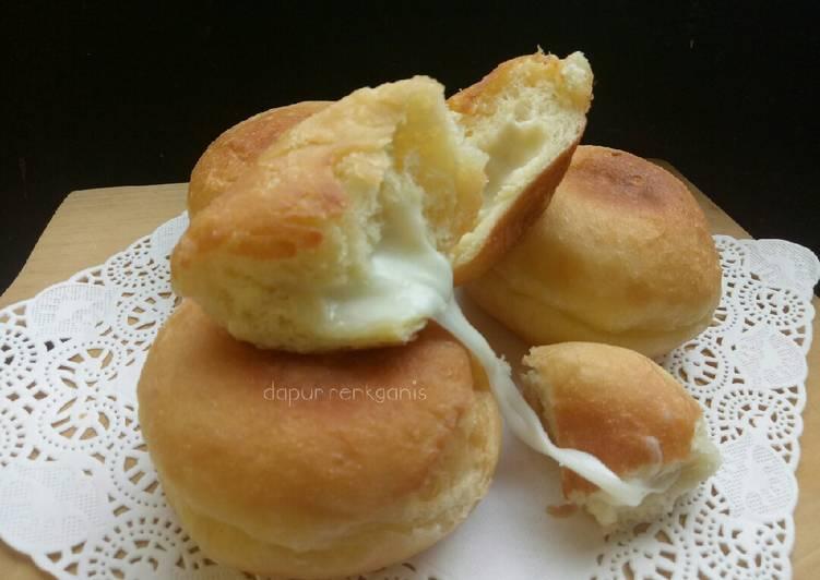 Resep Roti goreng (mozzarella)