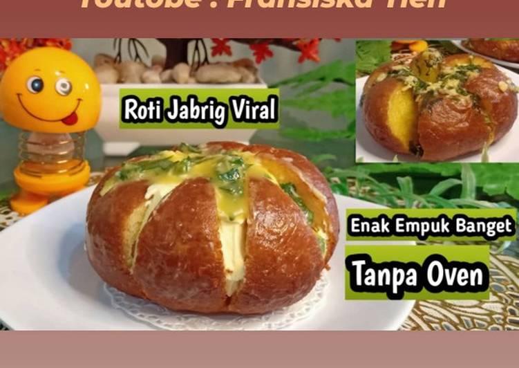 Resep Cara membuat ROTI JABRIG VIRAL  korean cream cheese garlic bread