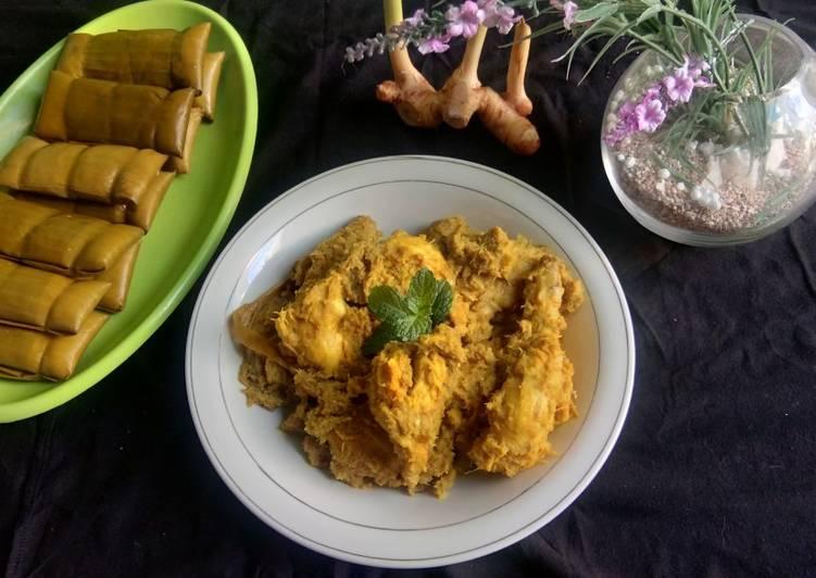Resep Ayam lengkuas atau nasu manu lekku khas bugis
