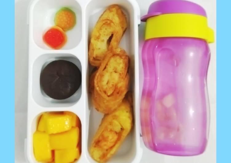 Resep Ide Bekal Anak : Shrimp Egg Roll Simpel