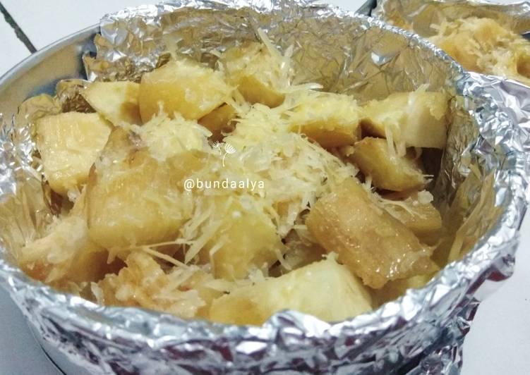 Resep Cassava Milk Cheese