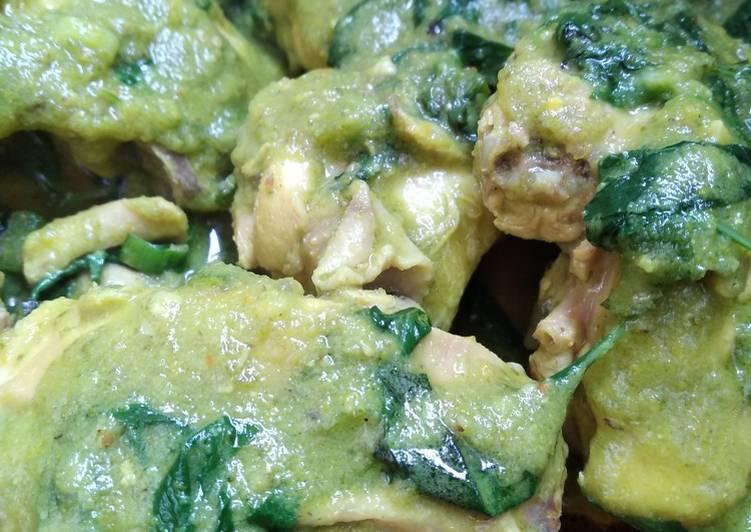 Resep Ayam woku cabe hijau