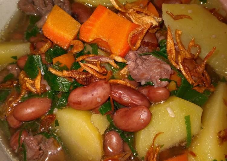 Resep Sup Kacang Merah Kaldu Sapi