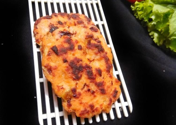 Resep Patty chicken (isian burger)