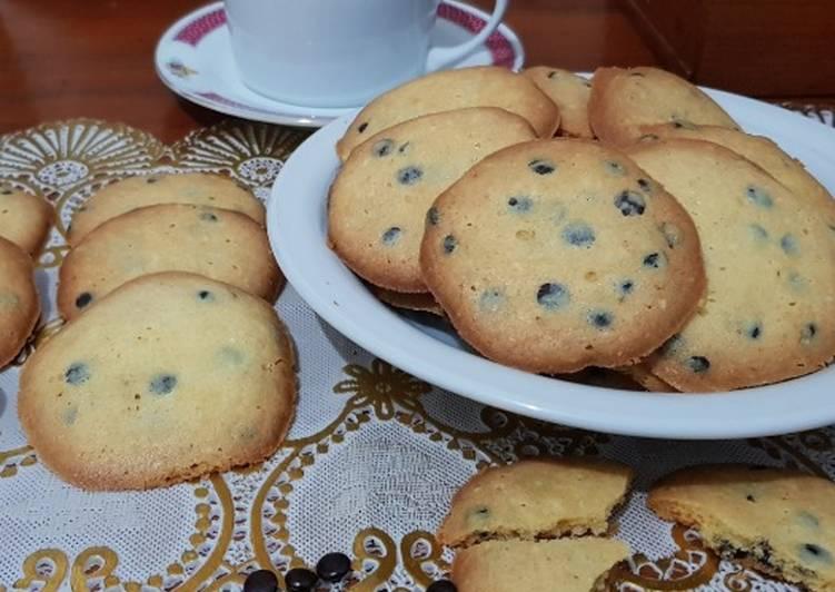 Resep Chocolate Chip (Chocochip) Vanila Cokies Simpel