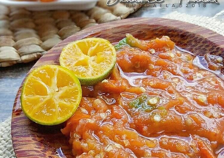 Resep Sambel Tomat