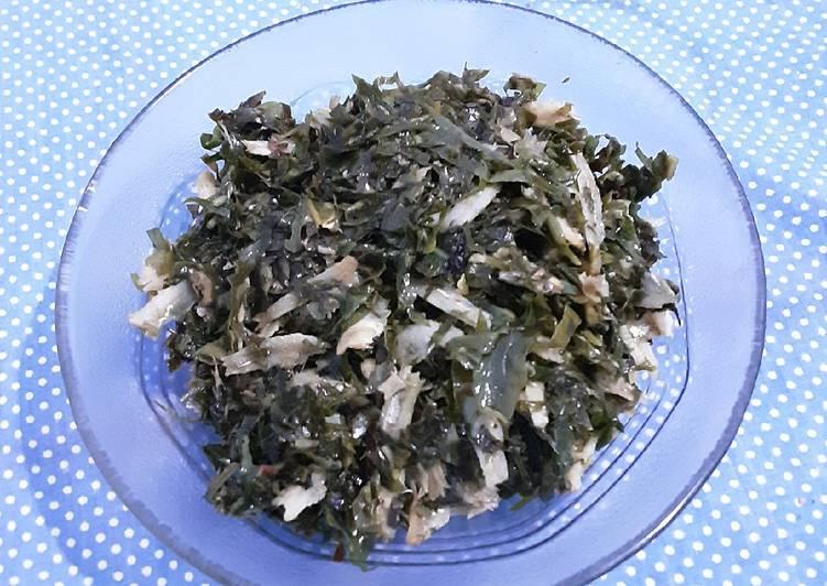 Resep Tumis daun melinjo (isian nasi bakar)