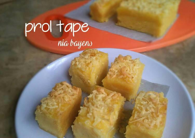 Resep Prol tape,simple,takaran sdm (#pr _adakejunya)