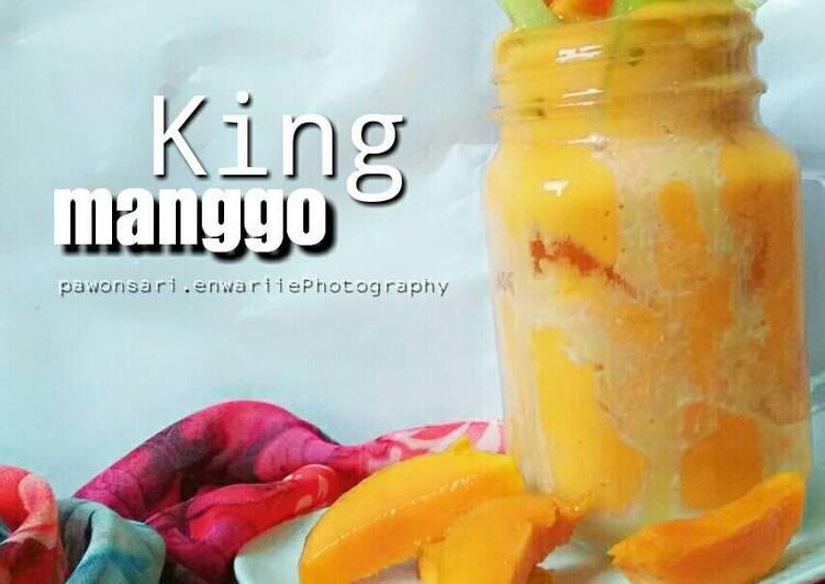 Resep King Manggo - Jus Mangga