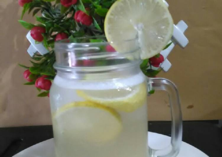 Resep Ice Lemon Shake