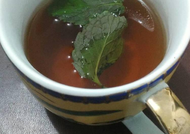 Resep Mint Tea