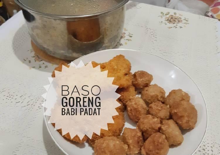 Resep Baso Babi Goreng Padat