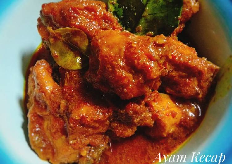 Resep Ayam kecap bumbu rujak