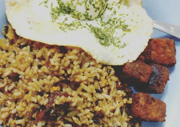 Resep Nasi goreng seaweed nyuss