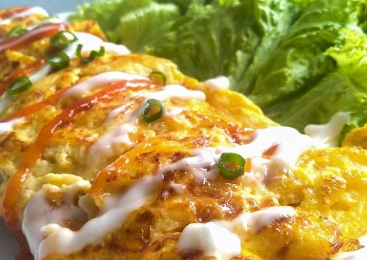 Resep Simple omelette
