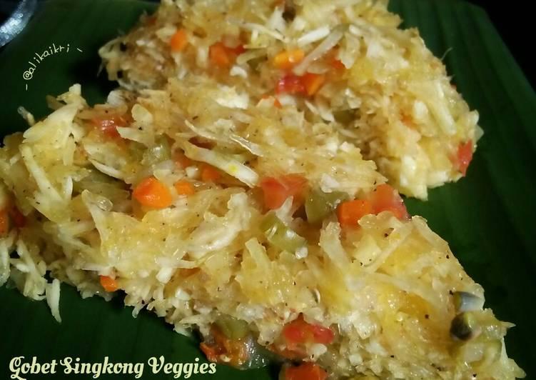 Resep Gobet Singkong Veggies