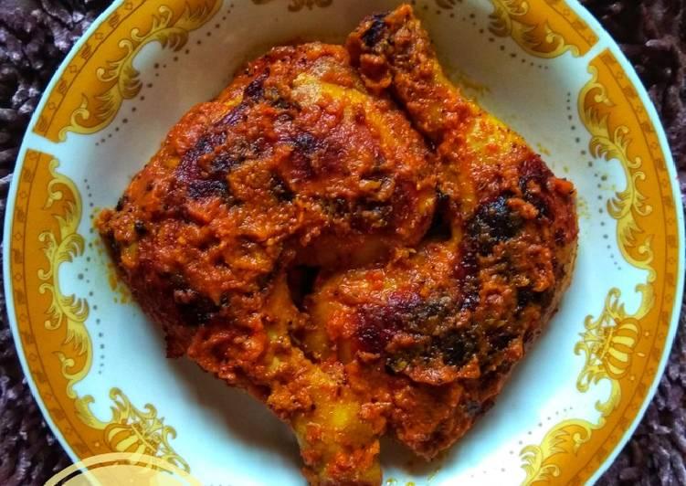 Resep Ayam Bakar Teflon Bumbu Rujak #SelasaBisa