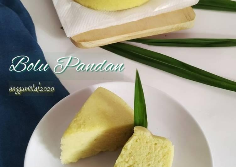 Resep Bolu Pandan (Tanpa Pewarna Tanpa Pasta) Kukus Takaran Sendok