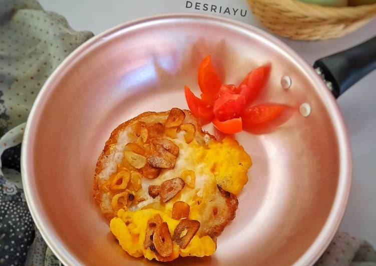 Resep Telur Ceplok Bawang Putih