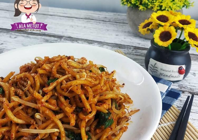 Resep Mie Goreng Kimchi Vegan alaMetut