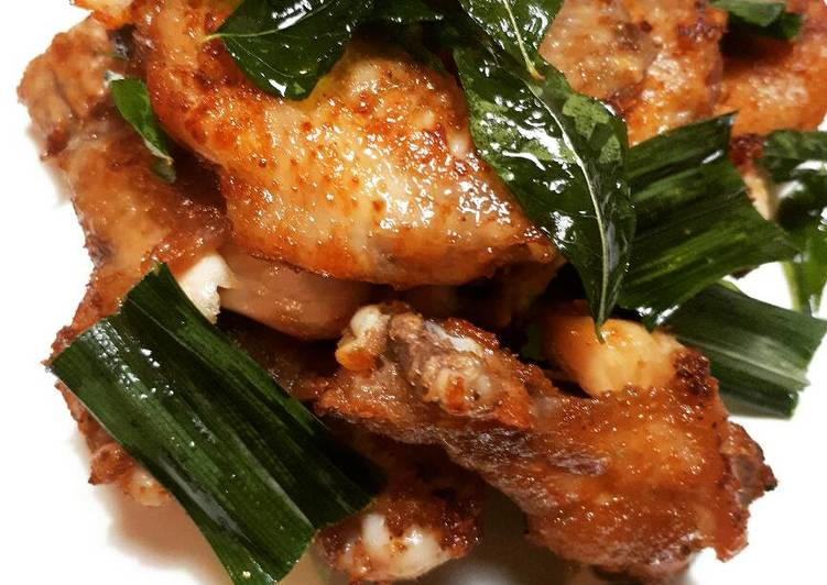 Resep Ayam Goreng Daun Kari