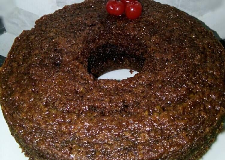 Resep Bolu Karamel/Sarang Semut