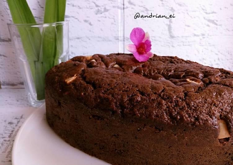 Resep Cake Pisang Coklat Keju (Tanpa Mixer)