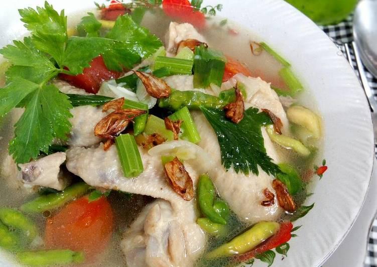 Resep Sop Ayam Janda