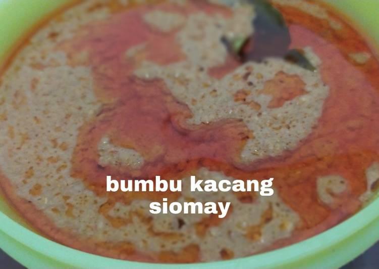 Resep Bumbu kacang siomay