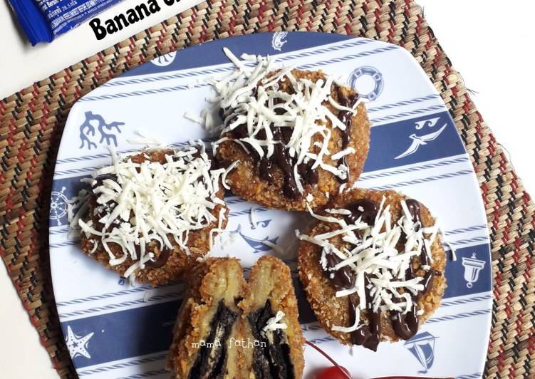 Resep Banana oreo crispy