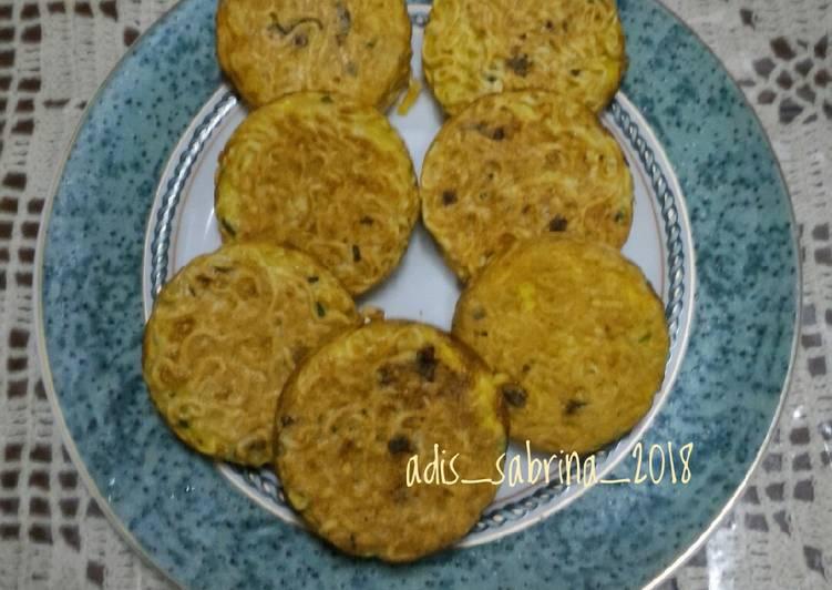 Resep Miedog (mie + endog/telur)