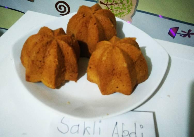Resep Kue sakura karamel