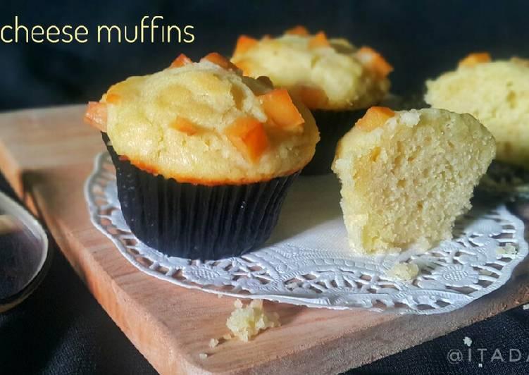 Resep Muffin Lemon Keju