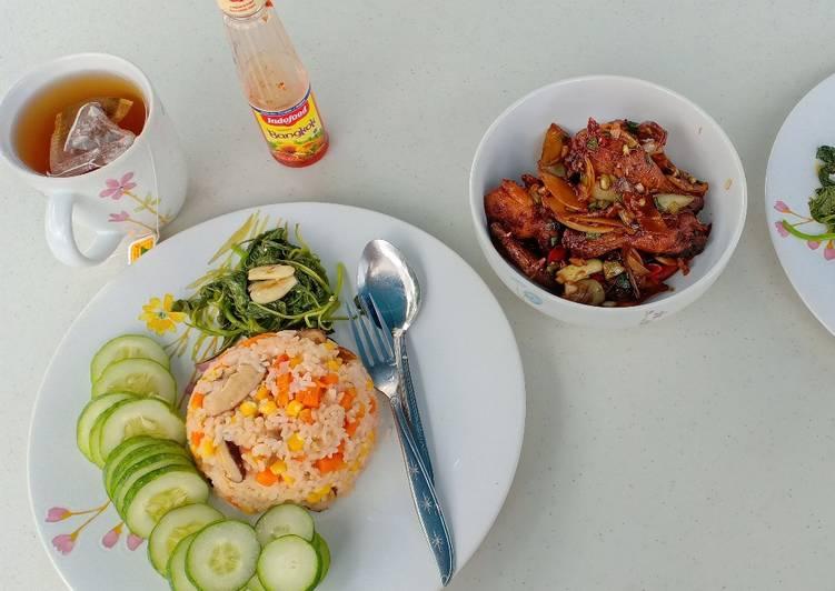 Resep Vegetable rice