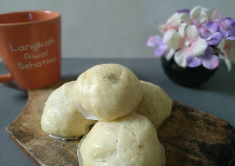 Resep Bakpao isi kacang merah