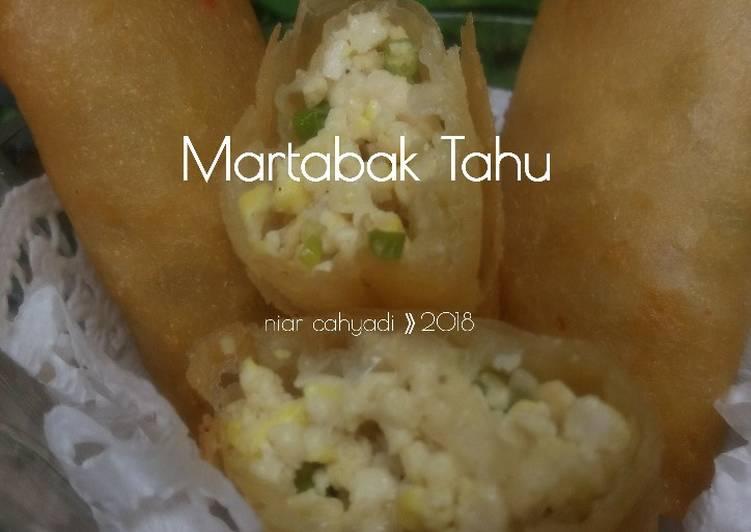 Resep Martabak Tahu