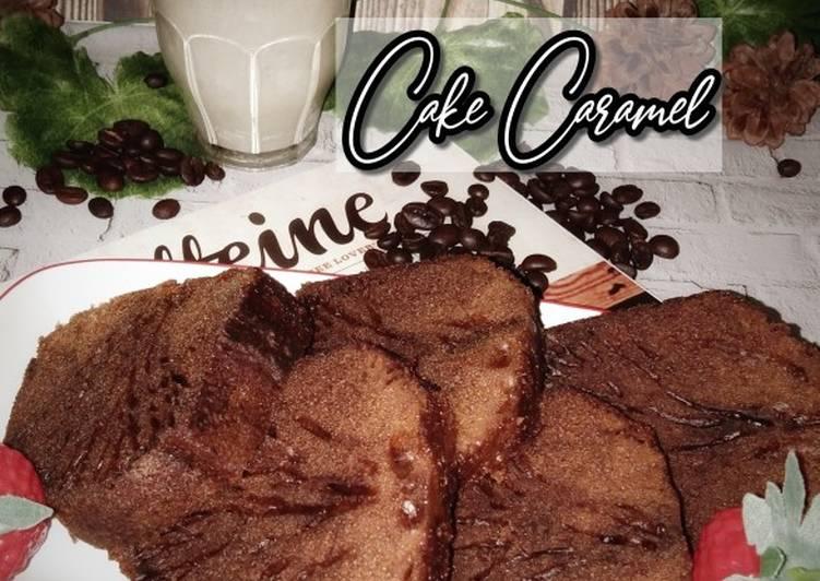 Resep Cake Caramel